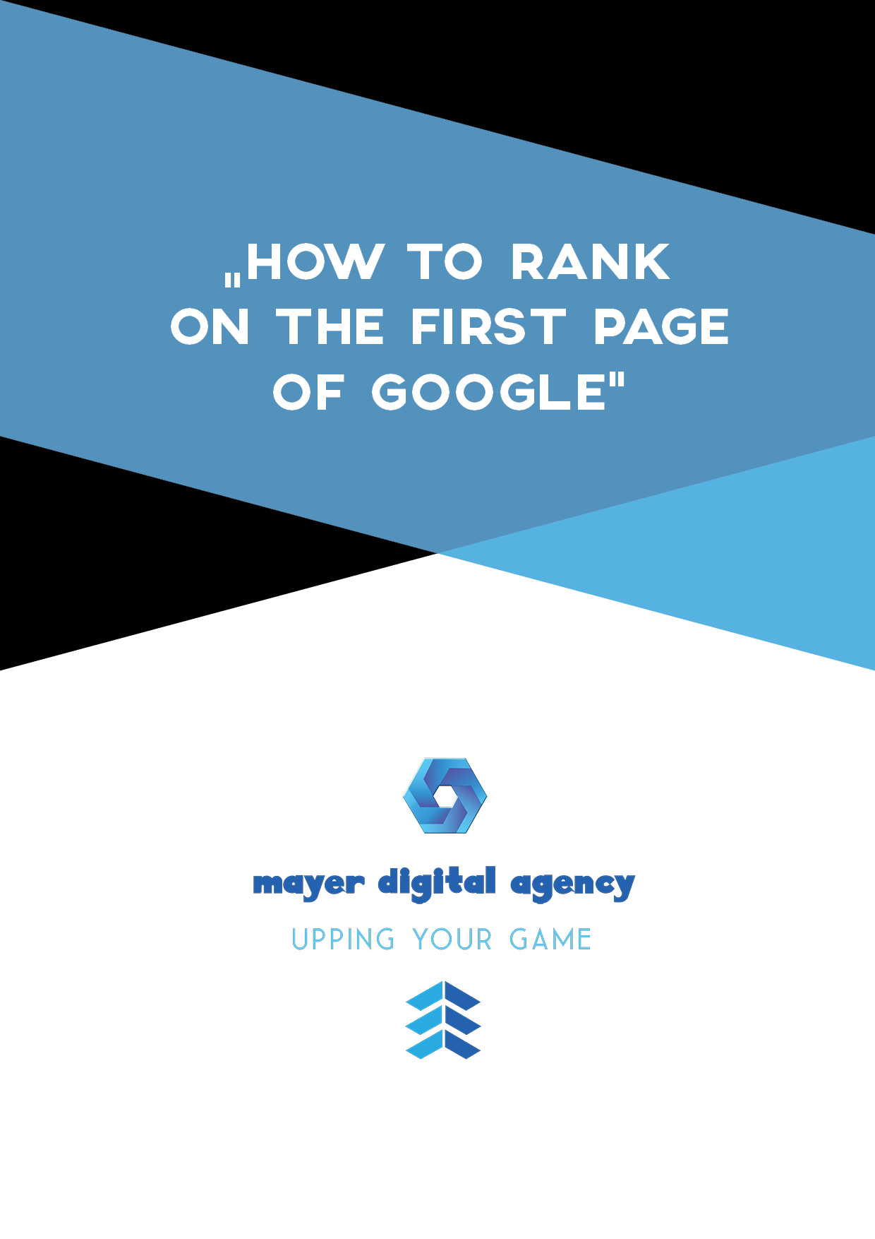How To Get On The First Page Of Google - Free Guide